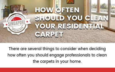 How Often Should You Clean Your Residential Carpet?