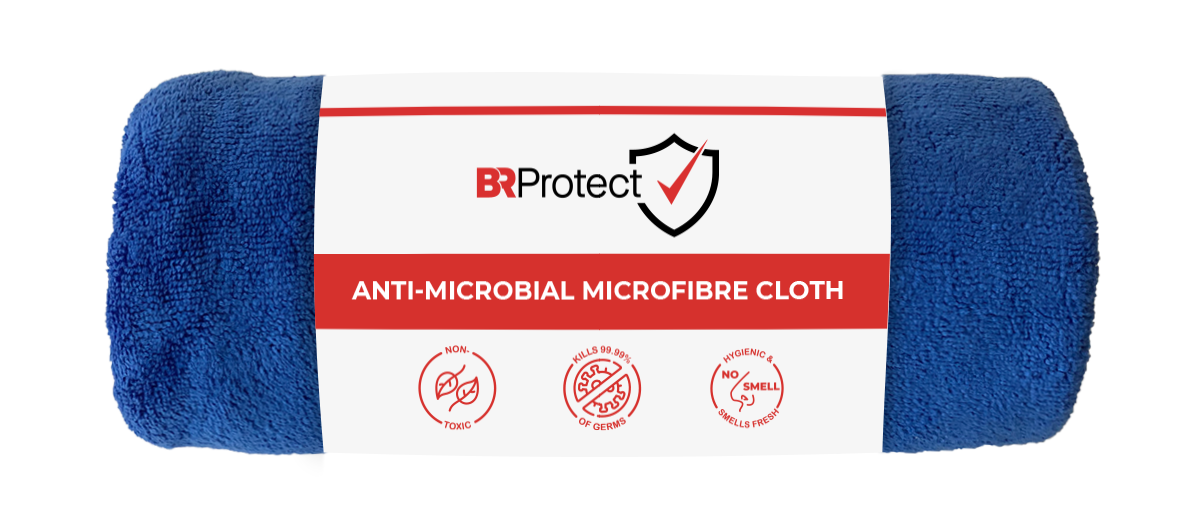 BRProtect Antimicrobial Microfibre Cloth - Roll